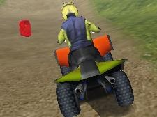 3D ATV Motor Yarışı