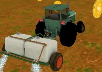 3D Çiftlikte Traktör Park Etme