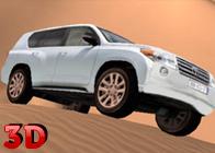 3D Çölde Araba Sürüşü
