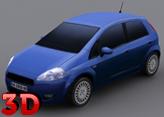 3D Fiat Punto Araba Kullanma