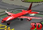 3D Jet Uçağı Park Etme