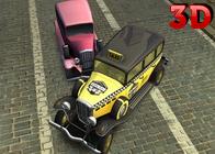 3D Mafya Arabası Sürme ve Park Etme