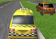 3D Sarı Taksi Yarışı