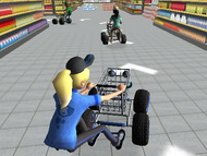 3D Süpermarket Yarışı