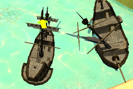 3D Tekne Gemi Park Etme