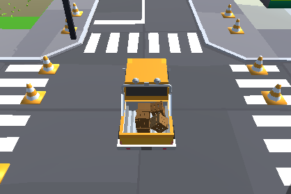3D Yük Taşıma Arabası
