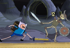 Adventure Time Finn Bones - İskelet Savaşı