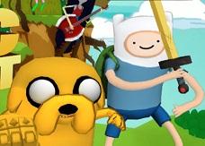 Adventure Time Finn ve Jake Tehlikeli Görev