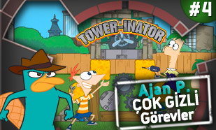 Ajan P Fineas ve Förb ile Tower İnator - Türkçe
