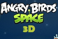 Angry Birds Space (Uzay) 3D Online