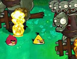 Angry Birds ve Zombiler