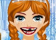Anna ve Elsa Dişçide