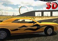 Araba ile Akrobasi Gösterisi 3D