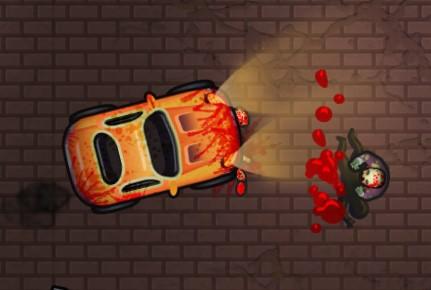 Araba İle Zombilerden Kaçış