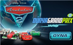 Arabalar 2 Dünya Grand Prix Yarışı - Türkçe