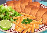 Balık ve Patates Kızartması Yap