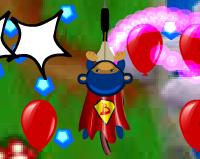 Balon Patlatan Süper Maymun 1