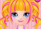 Barbi Bebek Manga Stili Saç Kesimi