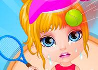 Barbi Bebek Spor Kazası