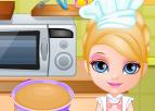Barbi Bebek Süpriz Kek