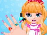 Barbi Bebek Tırnak Bakımı