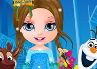 Barbi Bebek ve Buz Kız Kıyafetleri