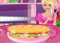 Barbie Sandviç Hazırlama
