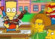 Bart Simpson Zombilere Karşı