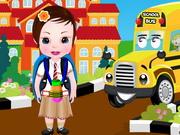 Bebeğin Okula Dönüşü