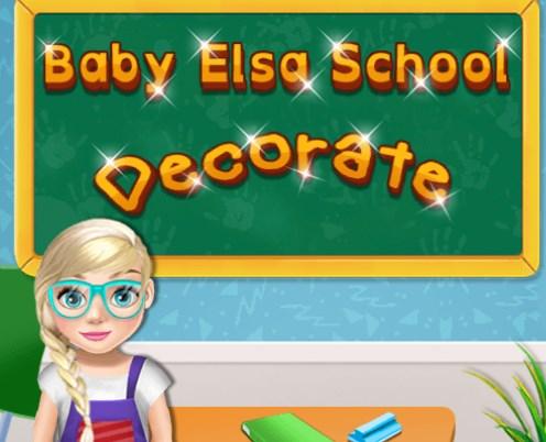 Bebek Elsa Okulda