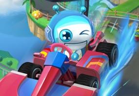 Bomb It Go Kart Yarışı 3D - Türkçe