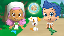 Bubble Guppies Orman Macerası