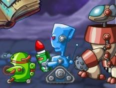 Büyücü ve Teknolojik Robotlar
