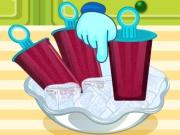 Buzlu ve Meyveli Dondurma Yapımı