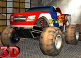 Canavar Tekerlekler 3D