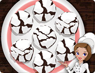 Çikolatalı Çatlak Kurabiye Yapımı