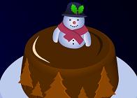 Çikolatalı Yılbaşı Pastası