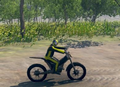 Dağ Motorcuları 3D