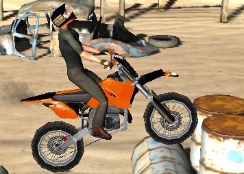 Dağ Motoru 3D - Engelli Yarış