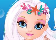 Deniz Kızı Barbi Bebek