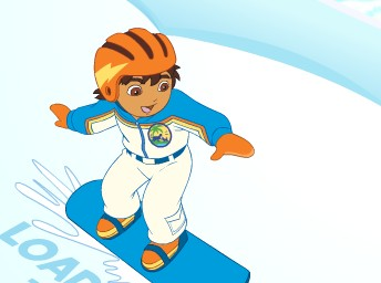 Diego Snowboard ile Kurtarma