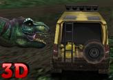 Araba ile Dinazordan Kaçış 3D
