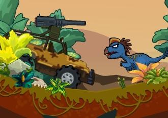 Dinozor Avcısı Araba
