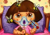 Dora Arı Sokması Sonrası Doktorda