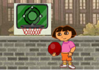 Dora Basketbol Oynuyor