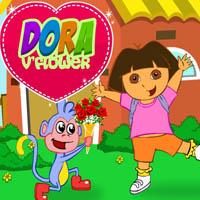 Dora İle Çiçek Süsle