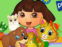 Dora ile Evcil Hayvan Bakımı