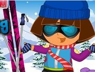 Dora'nın Kış Kıyafetleri