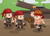 Düşman Askerler - Geliştirmeli