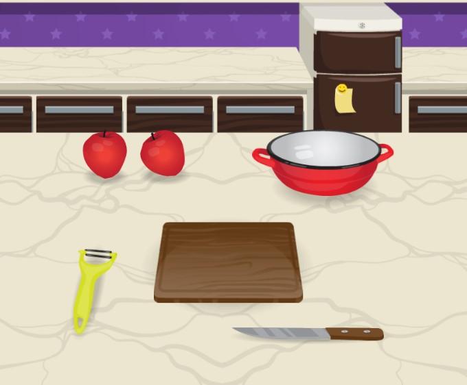 Elmalı Pasta Yapma